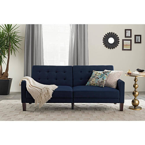 Better Homes & Gardens Porter Fabric Tufted Futon, Multiple Colors