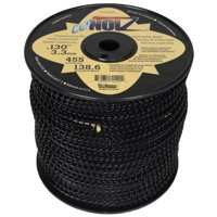 """LoNoiz LN130MSP 0.130"""" x 455' Commercial String Trimmer Line Black, Made in the USA"""