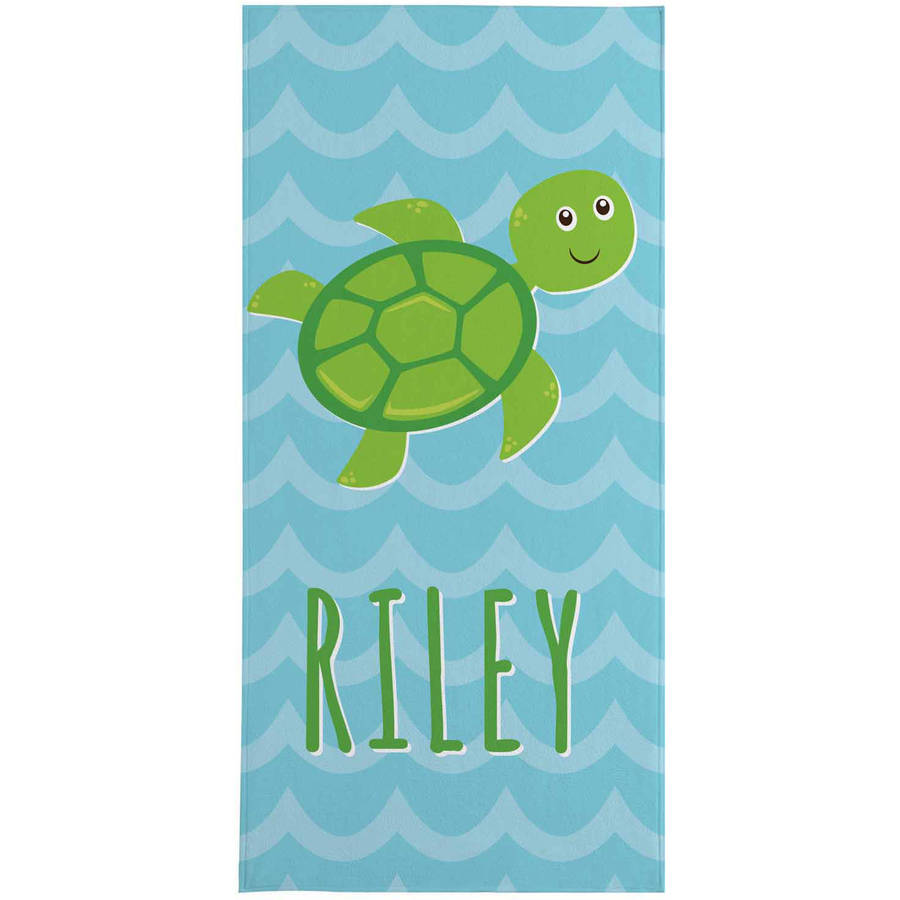 Personalized Sea Buddies Beach Towel
