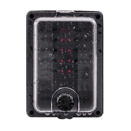 10 way 250a ip56 waterproof atc ato blade fuse box holder. Black Bedroom Furniture Sets. Home Design Ideas