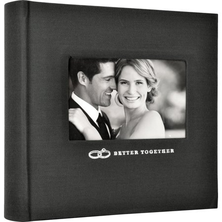 """Mbi 2-Up Photo Album 9.5""""X8.5""""-Better Together"""
