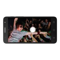 """Alcatel One Touch POP 4S 5095I - Smartphone - 4G LTE - 16 GB - microSDXC slot - GSM - 5.5"""" - 1920 x 1080 pixels - IPS - RAM 2 GB - 13 MP (5 MP front camera) - Android - dark gray"""