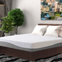 GranRest 10 Inch Aquarius Gel Memory Foam Mattress-in-a-Box