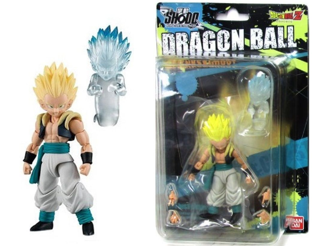 Bandai Shokugan Shodo Dragon Ball Z Super Saiyan Gotenks & Ghost Action Figure by Bandai