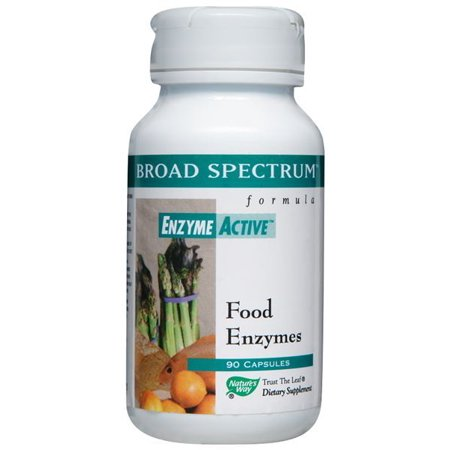 Large spectre d'enzymes Nature's Way 90 Caps