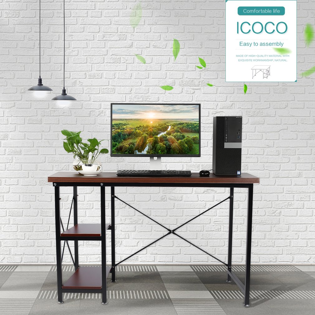 Modern Simple Desktop Computer Desk Table PC Laptop Desk Home Office Furniture