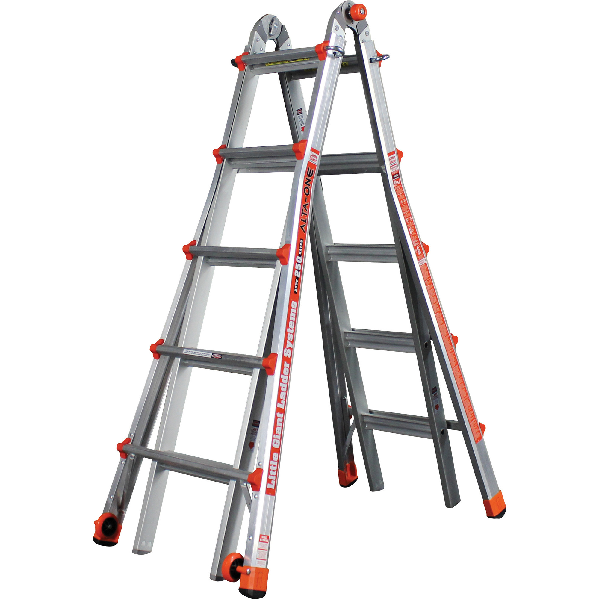 Little Giant Alta One 22 Extension Ladder Walmart Com