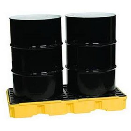 Spill Containment Platform for 2 - 55 gal Drums (Modular Spill Containment Platform)