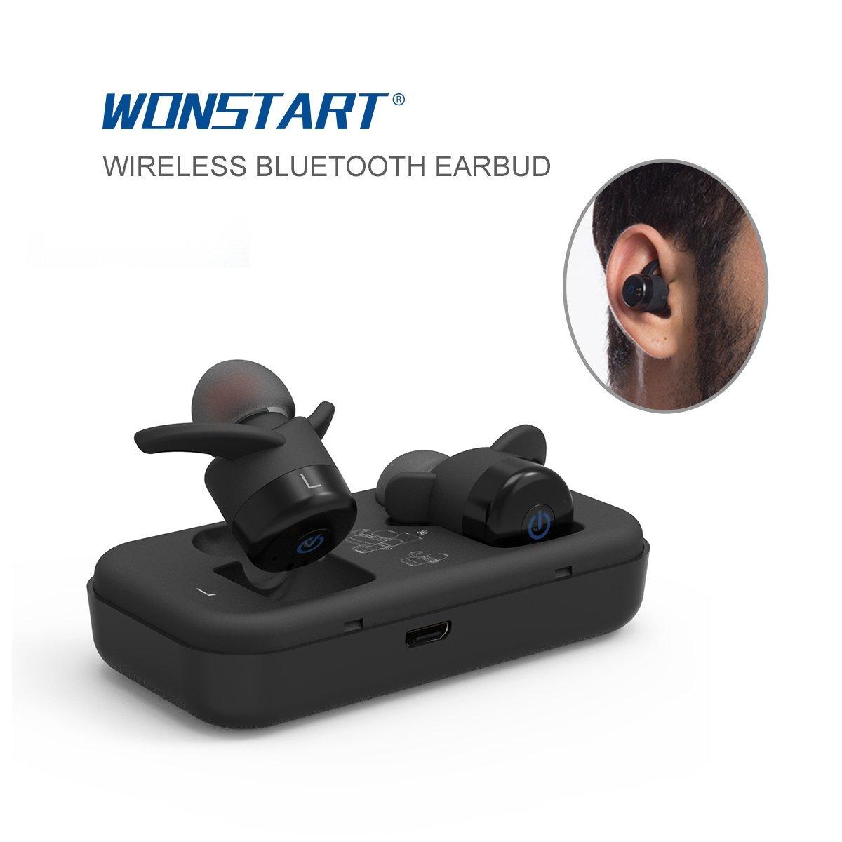 Mini True Wireless Earbuds,Bluetooth Stereo Headphone Wat...