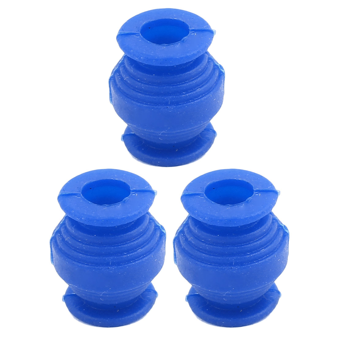 FPV Gimbal Aerial Camera Mount 9mm Inner Dia Shockproof Blue Damping Ball 3pcs - image 3 of 3