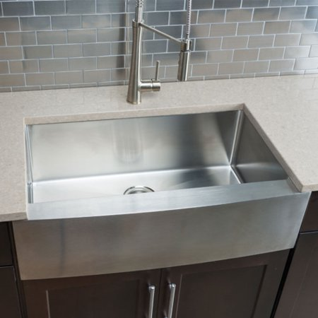Hahn Chef Series 32.88'' L x 20.75'' W Single Bowl Farmhouse Kitchen Sink ()