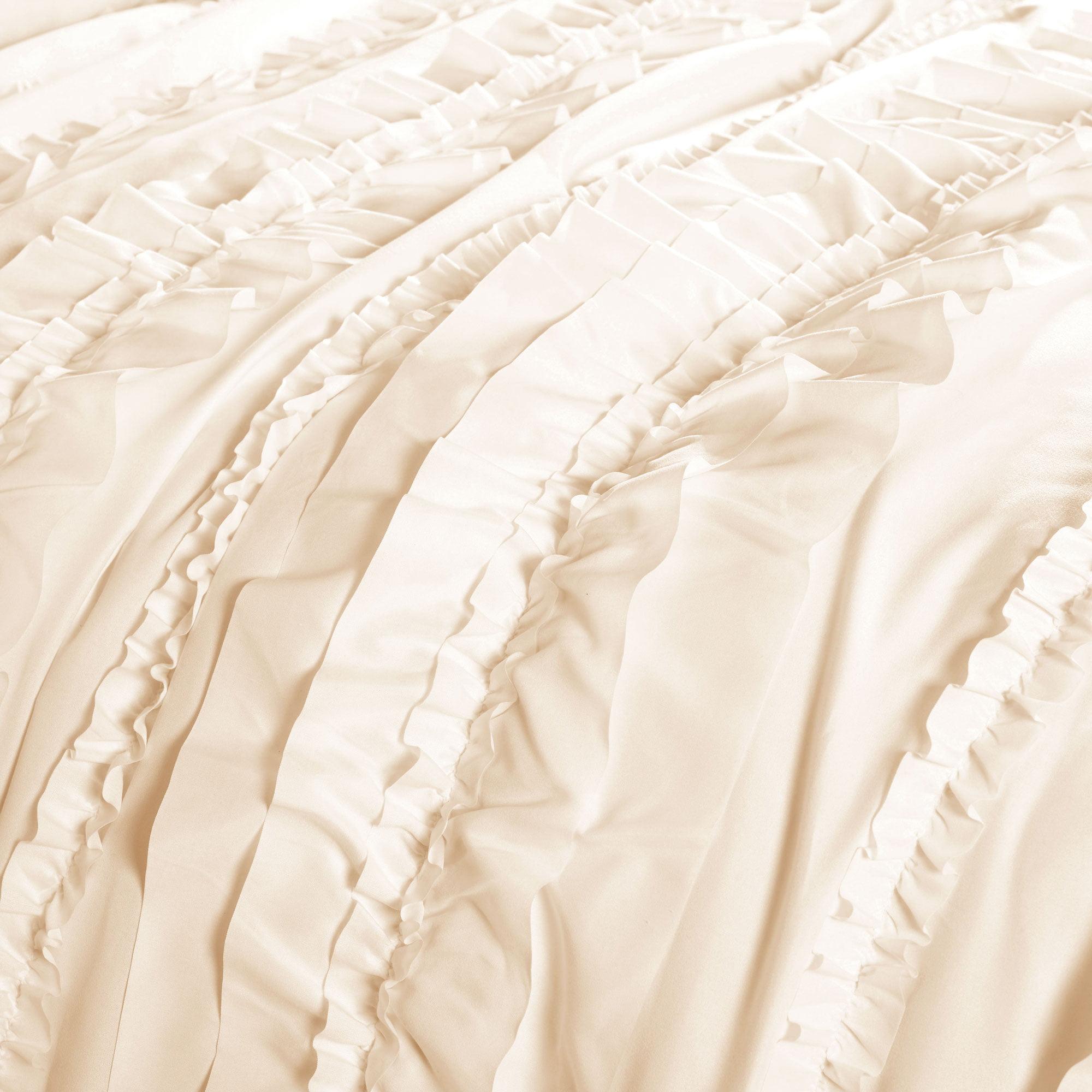 Belle Comforter Ivory 4pc Set Queen