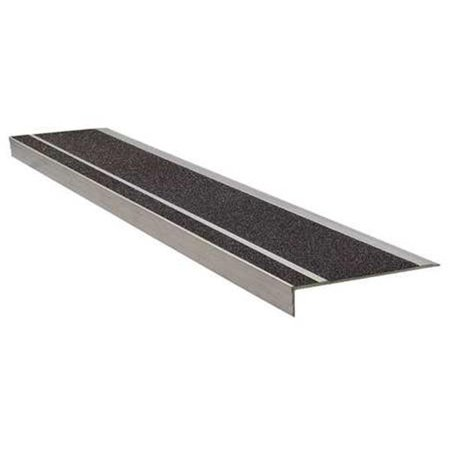 Anti Slip Stair Safety Treads 6 5 in Deep x 4 ft Long Black