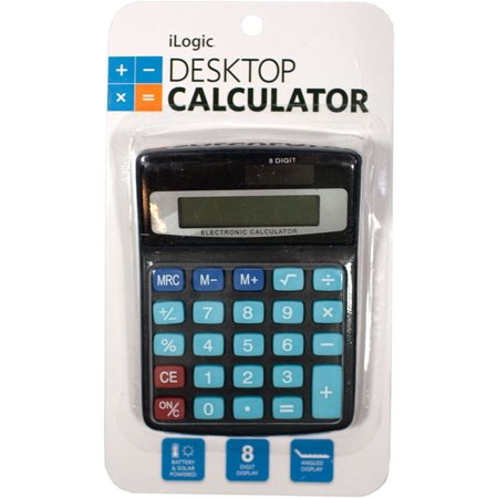 8-Digit Solar Calculator, Desktop Calculator, iLogic, Calculator, Best Brands, Solar (Best Wage Calculator App)
