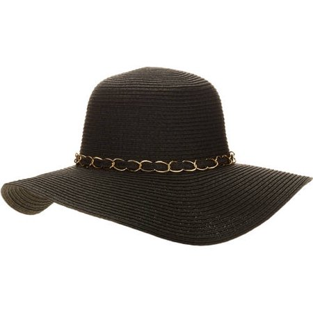 Women s Chain Floppy Hat - Walmart.com 338257ff6f4
