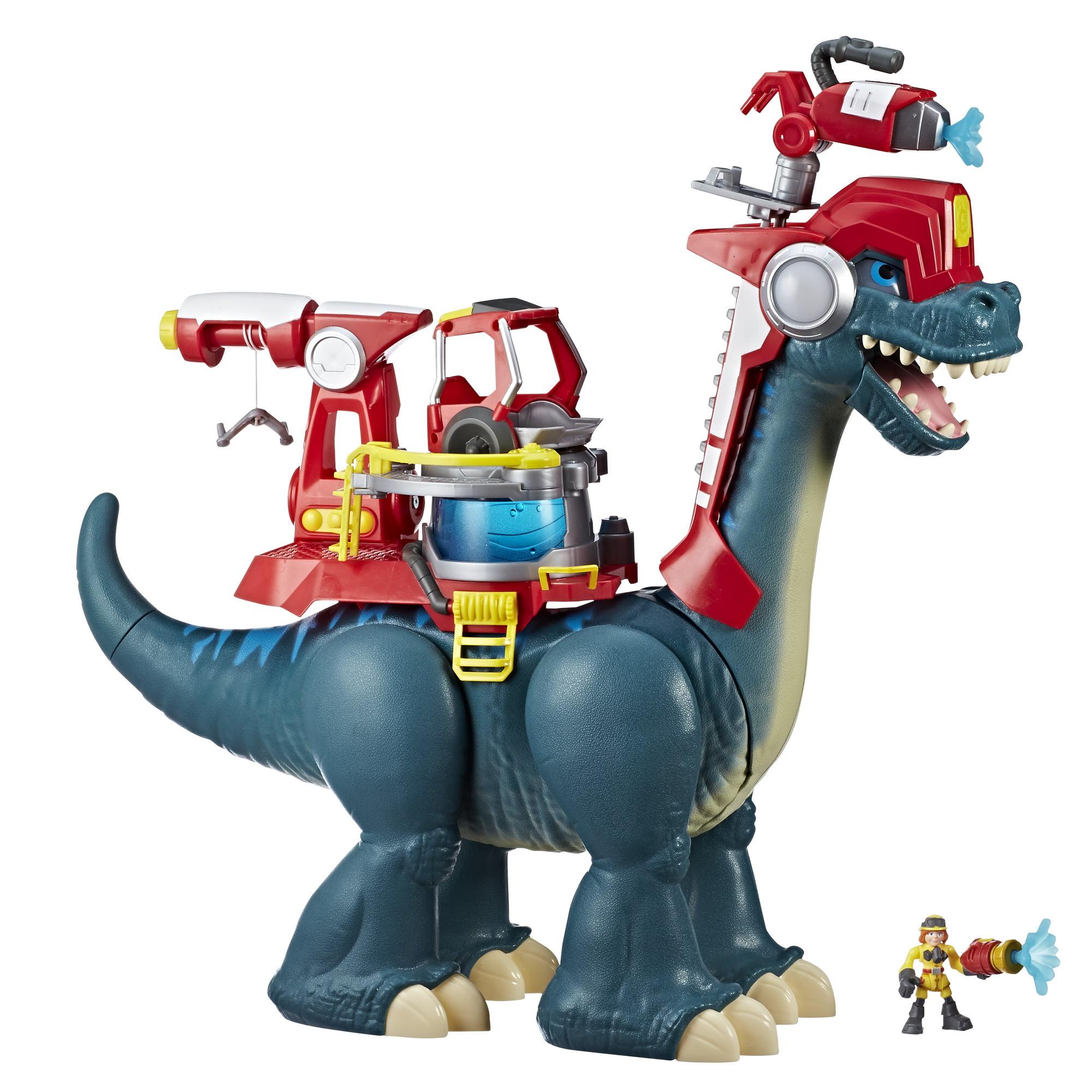 Playskool Heroes Chomp Squad Blazeasaurus and Sparks McKenzie by Hasbro Inc.