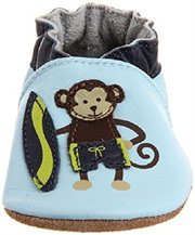 Robeez Soft Soles Surfer Dude Monkey 5-6 years by