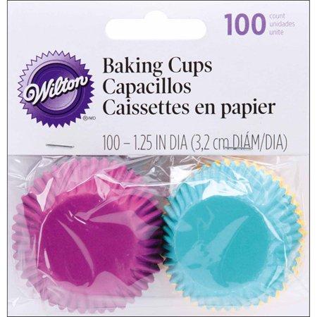 Mini Baking Cups, 100/Pkg