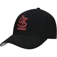 MLB St. Louis Cardinals Black Mass Basic Adjustable Cap/Hat by Fan Favorite