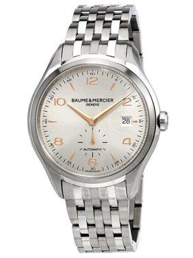 Baume & Mercier Baume and Mercier Clifton Automatic Silver Dial Men's Watch 10141