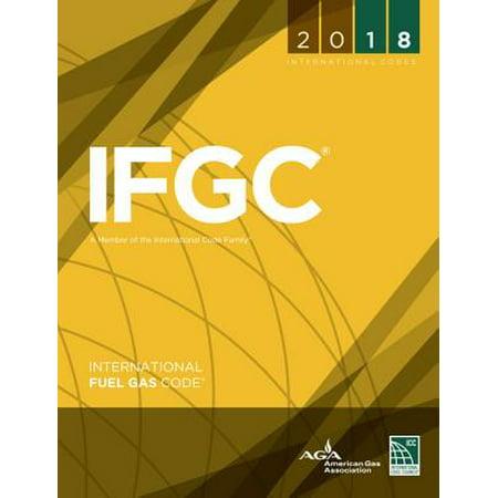 2018 International Fuel Gas Code (International Code Set)