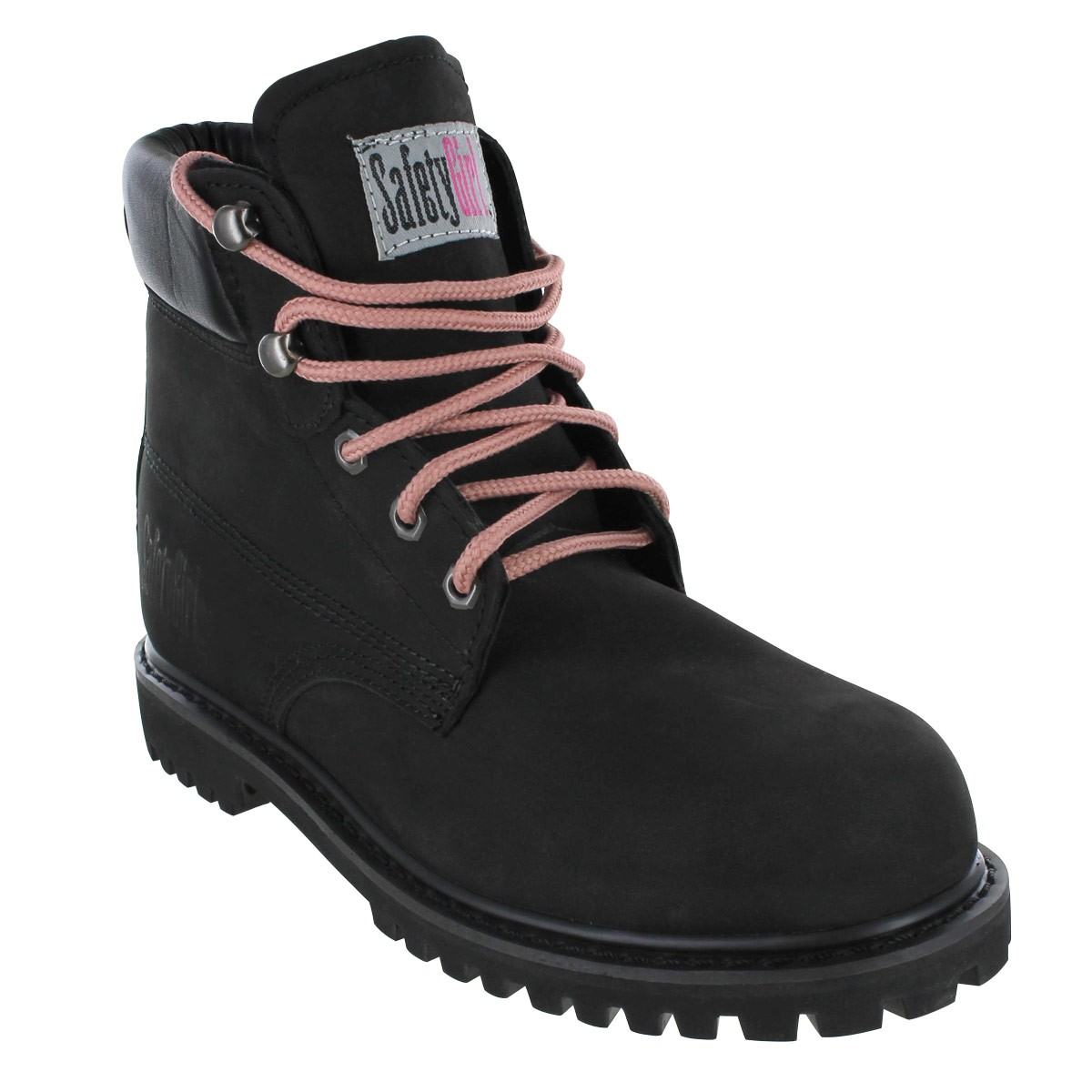 Safety Girl II Steel Toe Waterproof Women's Work Boots - Black - 10.5M