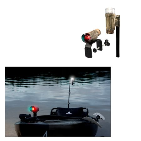 Attwood PaddleSport Portable Navigation Light Kit - C-Clamp, Screw Down or Adhesive Pad - RealTree® Max-4 Camo - image 1 de 1