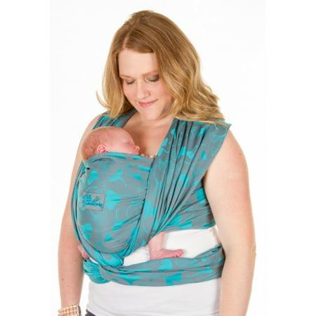 db15dbea2c4 Chimparoo extra woven wrap Biloba Aqua - Walmart.com