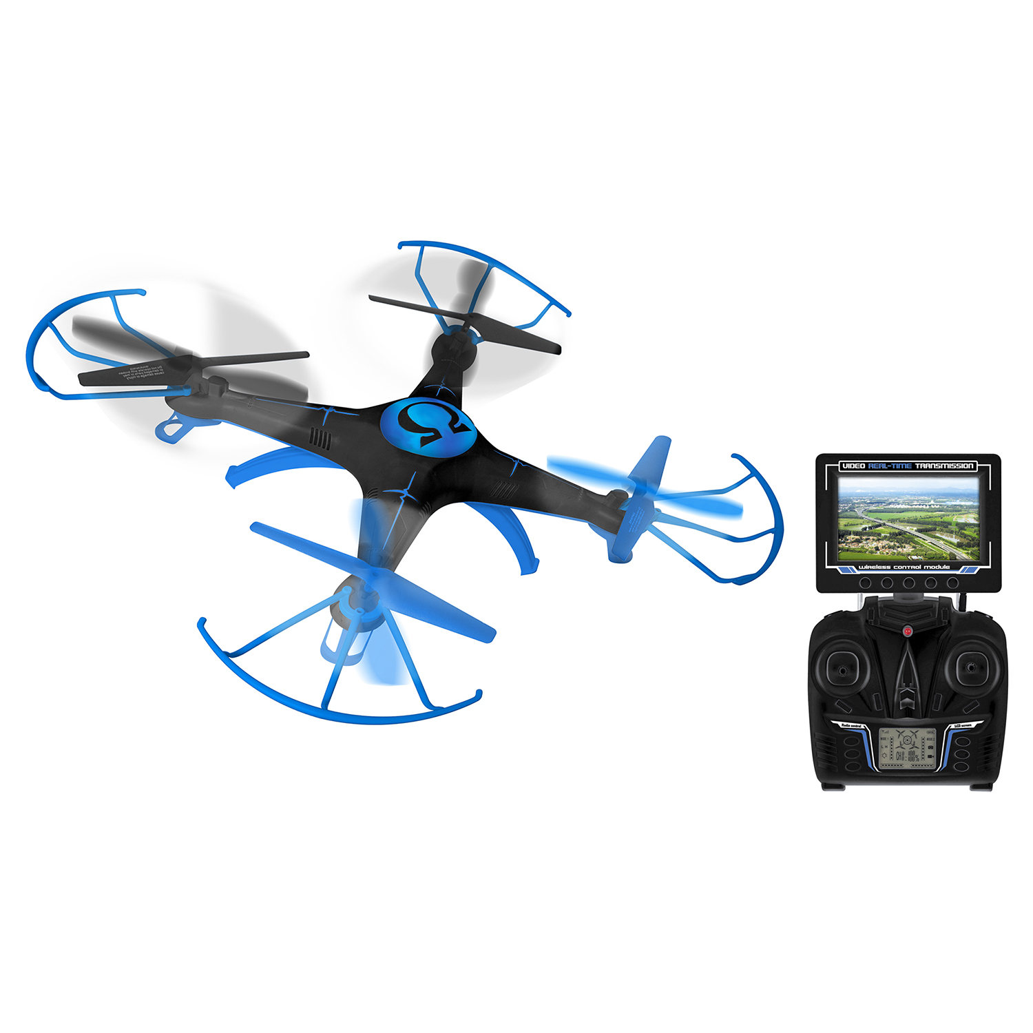 Alta Quadcopter RC Drone Omega with FPV Live Stream Camera and Remote