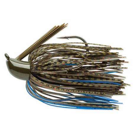 Terminator Pro Series Jig 1/4 oz Fishing Lure - Blue Olive