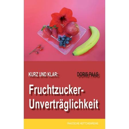 Kurz und klar: Fruchtzucker-Unverträglichkeit - eBook (Klar, Schwimmbrille)
