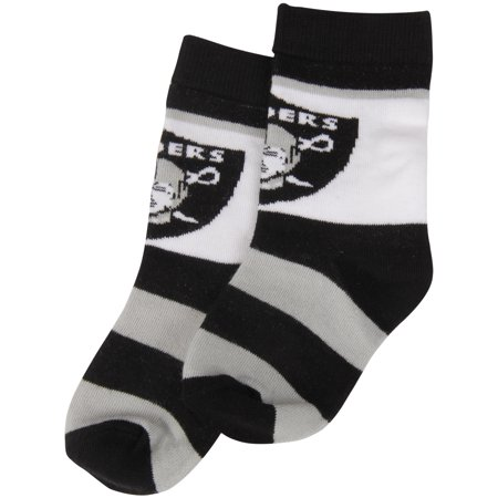 Bare Feet Clothing Store (Oakland Raiders For Bare Feet Toddler Rugby Block Socks - No Size)