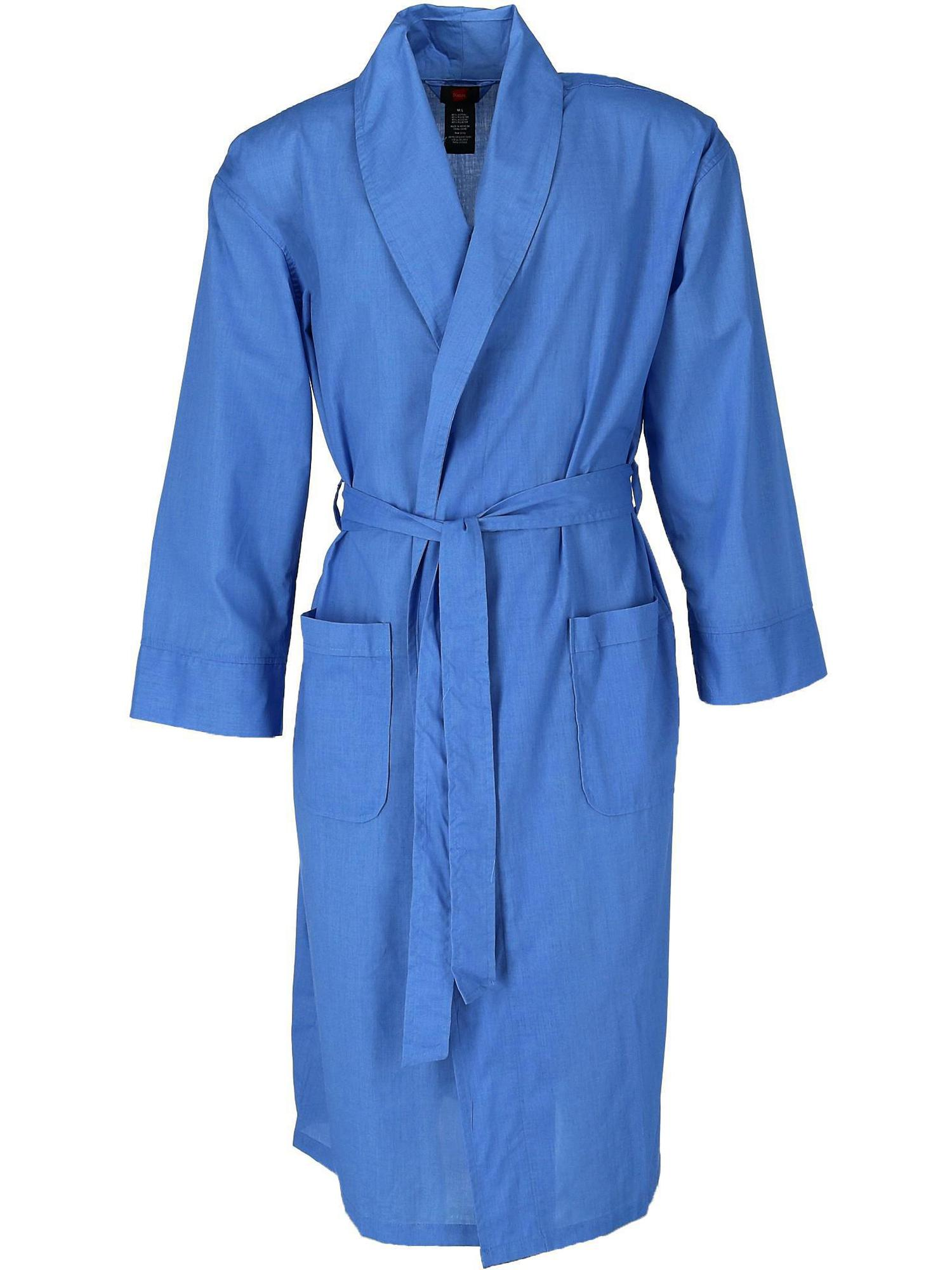 Size  3X/4X Men's Big and Tall Lightweight Woven Robe