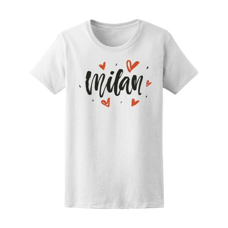 Milan Home Shirt - Milan Lovers, Travel Adventure Tee Women's -Image by Shutterstock