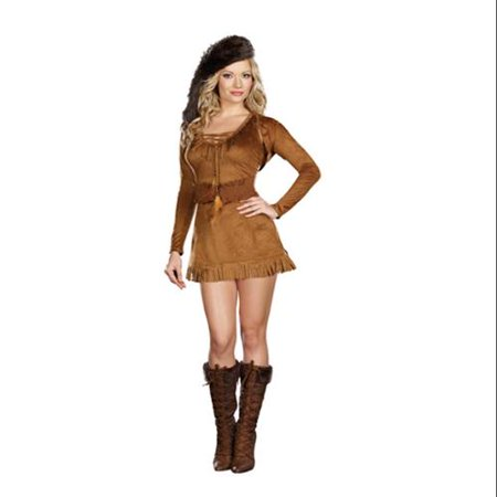 Diva Crocket Sexy Pioneer Dress Costume - Pioneer Dresses For Sale