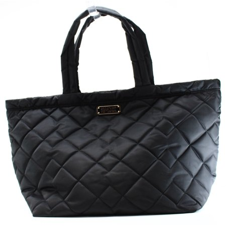 - Marc by Marc Jacobs NEW Black Nylon Quilted Weekender Crosby Tote Bag