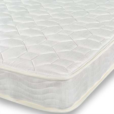 "Zinus 6"" Foam and Spring Twin Mattress 2 Piece Set for Bunk Beds"