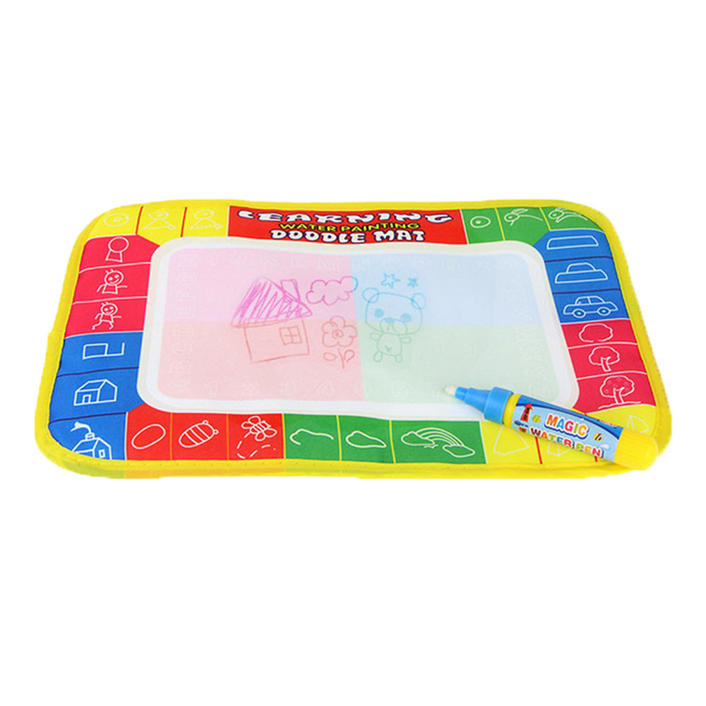 DZT1968® New Water Drawing Painting Writing Mat Board Magic Pen Doodle Gift 29 x 19cm