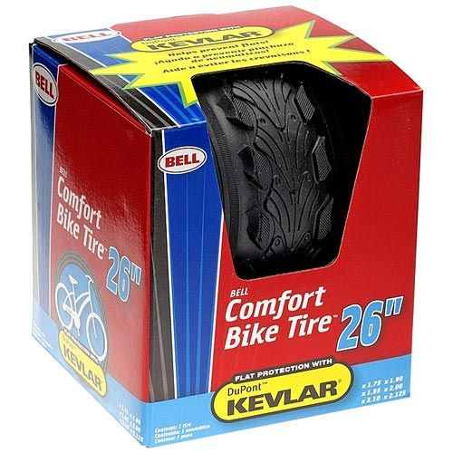 "Comfort  26"" Bike Tire with Kevlar"