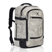 Hynes Eagle Travel Backpack 40L Flight Approved Carry on Backpack Light Camo 2017N