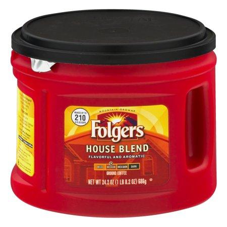 Folgers House Blend, 24.2 OZ