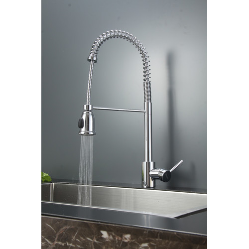 Ruvati 30'' x 18'' Kitchen Sink with Faucet
