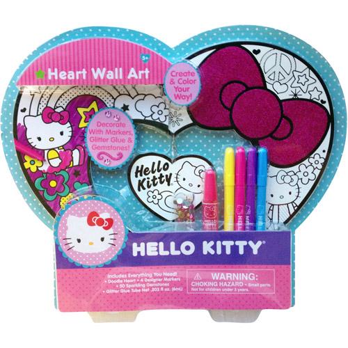 Hello Kitty Heart Wall Art