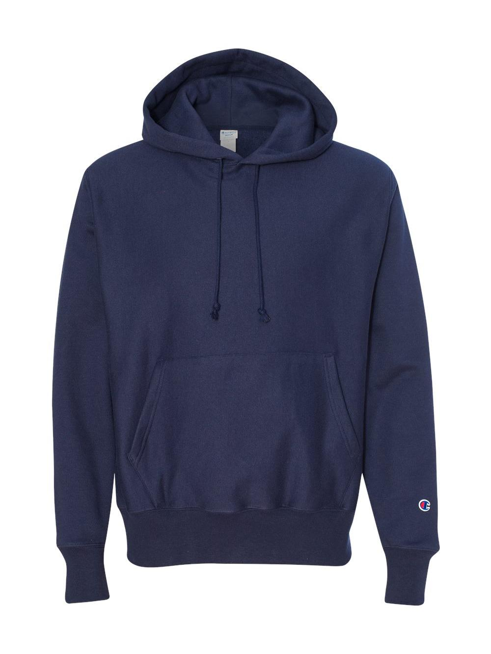 Fleece Reverse Weave Hooded Sweatshirt