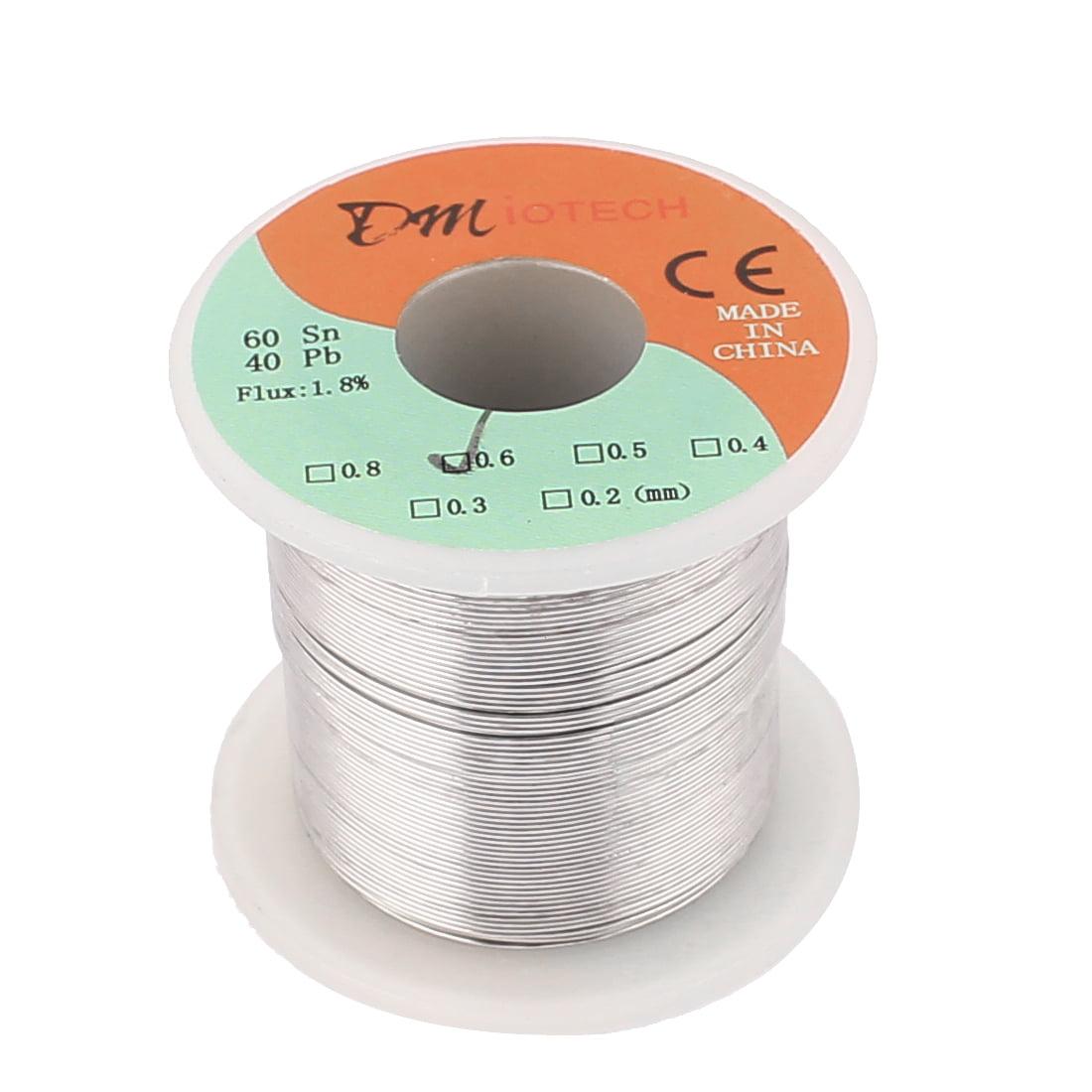 DMiotech 0.6mm 200g 60/40 Tin  Roll Solder Soldering Wire Spool Reel
