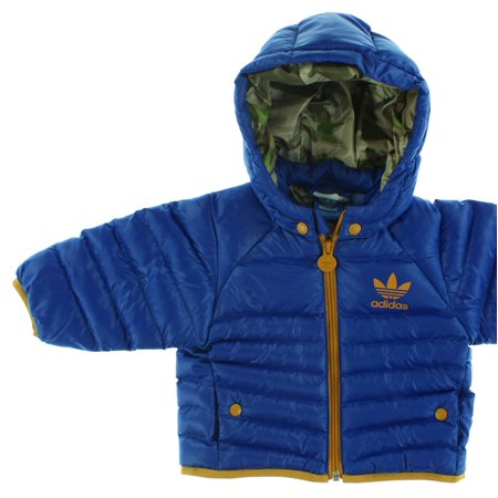 Adidas Baby Boys Toddlers Snow Jacket Royal Blue