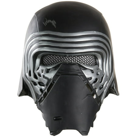 Kylo Ren 1/2 Helmet Adult Halloween Accessory (Half And Half Halloween Makeup)