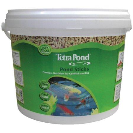 aquatics tetra pond fish food stick lb 10 l bucket. Black Bedroom Furniture Sets. Home Design Ideas