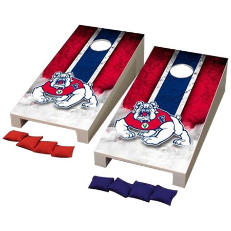 - Fresno State Bulldogs Desktop Mini Cornhole Game Set - No Size