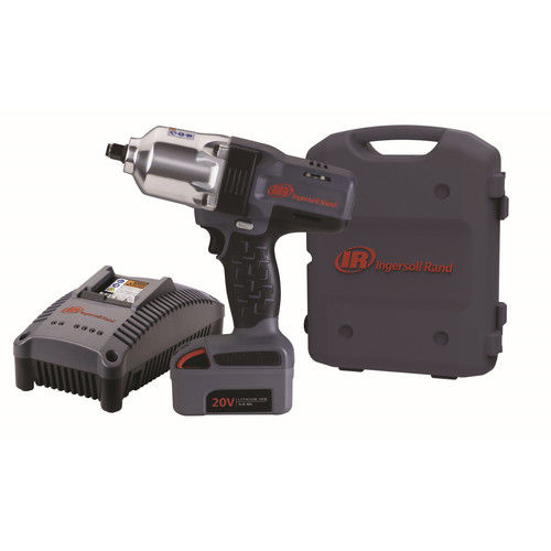 Ingersoll Rand W7150-K1 20V 3.0 Ah Cordless Lithium-Ion 1/2 in. High-Torque Impact Wrench Kit